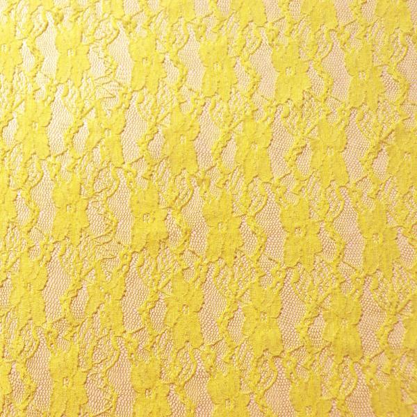 Spitze ~ elastisch Blüten Gelb