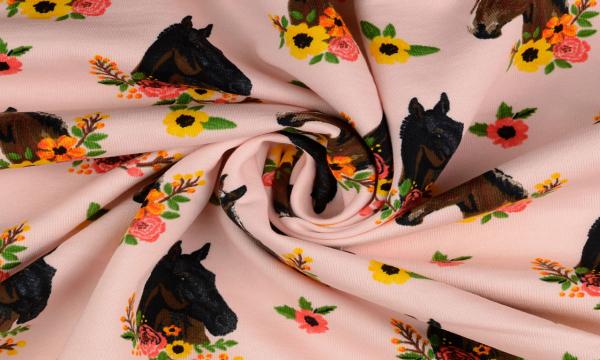 Kuschelsweat ~ Pferde Rosa