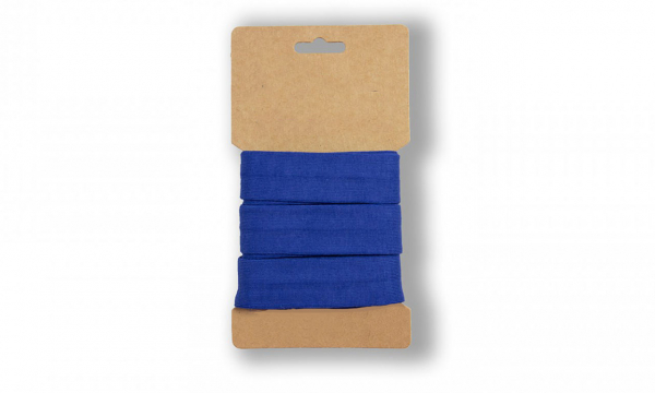 3 Meter Jersey Schrägband Royalblau 20mm
