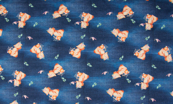 Digital Jersey ~ Fuchs auf Jeansoptik