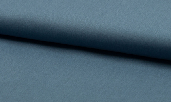Baumwolle ~ UNI Jeansblau
