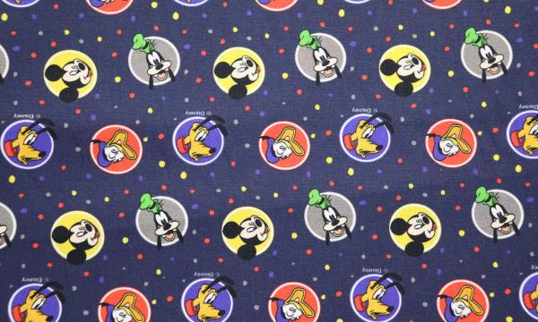 Lizenz Walt Disney Baumwolle ~ Mickey Mouse und Freunde